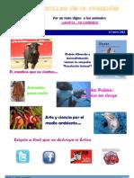 Boletín de Huellas en el Corazón Marzo 2012 No8