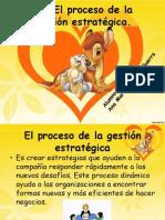 1.2 El proceso de la gestión estratégica