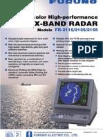 Furuno Radar Fr21X5