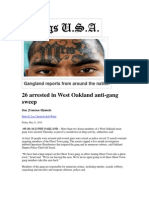 Gangs in the News