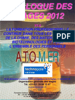 Catalogue Formation Continue Chimie Materiaux Polymeres Metaux Composites Formulation Analyse 2012