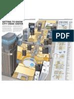 Map of City Creek Center mall in Salt Lake City