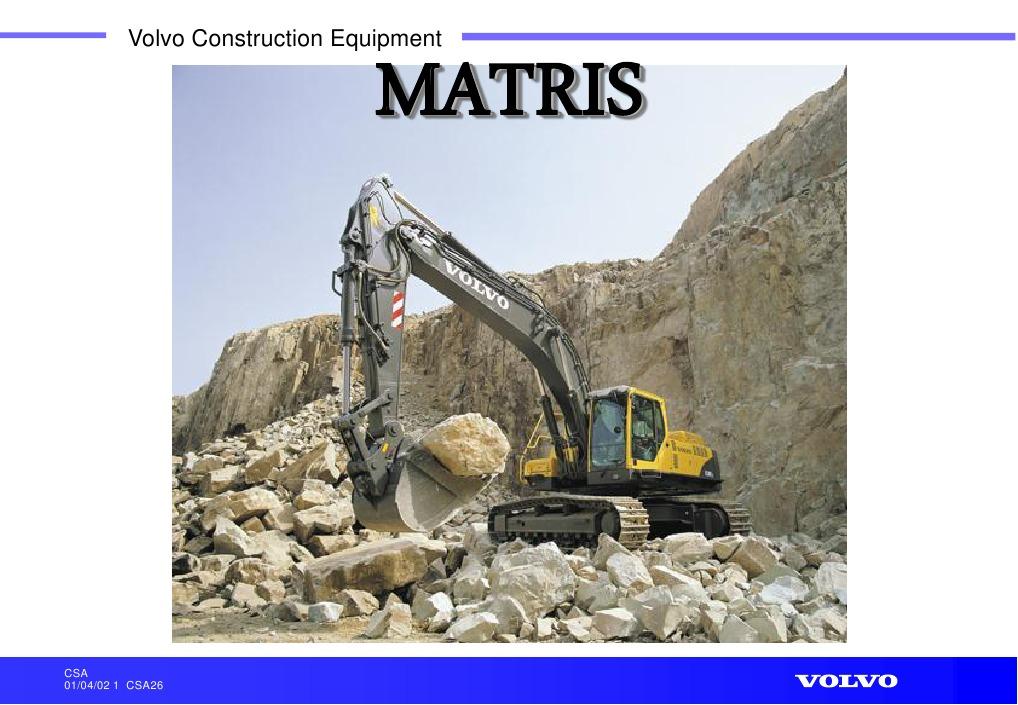 Matris Excavator
