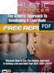How To Burn Fat and Develop A Lean Body!