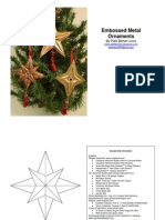 Embossed Ornament Patterns and Instructions