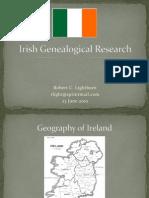 Irish Genealogical Research