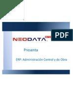 ERP Central y Obra