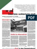 Extrablatt zur Kommunalwahl 2004 (05/2006)