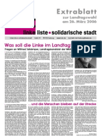 Extrablatt Landtagswahl 2006 (02/2006)