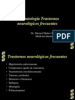 Fisiopatología Trastornos neurológicos frecuentes