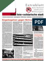 Extrablatt Wohnungsverkauf (05/2006)