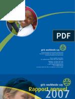 Rapport annuel 2007 de l'AMGE