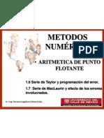 Sesion 3 Aritmetica de Punto Flotante