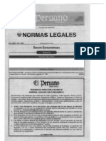 DS 006-2012-EM Aprueban medidas complementarias para la formalización de la actividad minera en las zonas comprendid