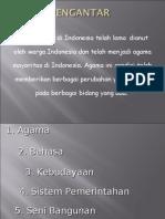Pengaruh penyebaran Agama Islam Di Indonesia