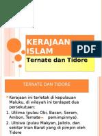 Kerajaan Islam Ternate Dan Tidore