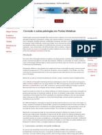 Corrosão e outras patologias em Pontes Metálicas - PORTAL METÁLICA