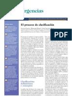 2010 El proceso de clasificación en urgencias pediátricas