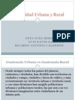 Comunidad Urbana y Rural