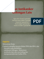 Obat Antikanker Golongan Lain Dan Struktur