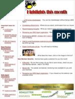 October 2011 Members Newsletter