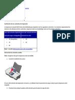 Mantenimiento de La Impresora Lexmark