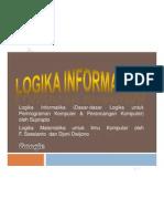 Logika Informatika (Silabus)Pertemuan_1