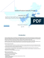China Insulated Products Industry Profile Cic3933
