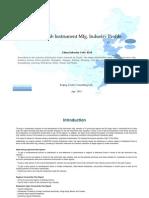 China Lab Instrument Mfg. Industry Profile Cic4114