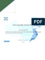China Lamp Mfg. Industry Profile Cic3972