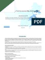 China Machine Tool Accessories Mfg. Industry Profile Cic3525