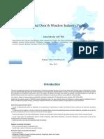 China Metal Door Window Industry Profile Cic3412