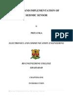 47739565 Design and Implementation of Seismic Sensor