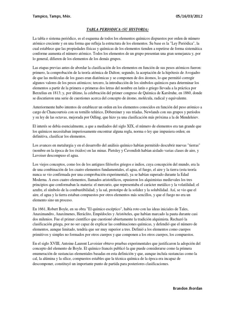 Tabla periodica de los elementos urtaz Image collections