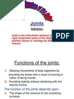 Bio Mechanics of Joints