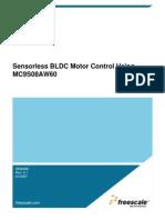 Sensor Less BLDC Motor