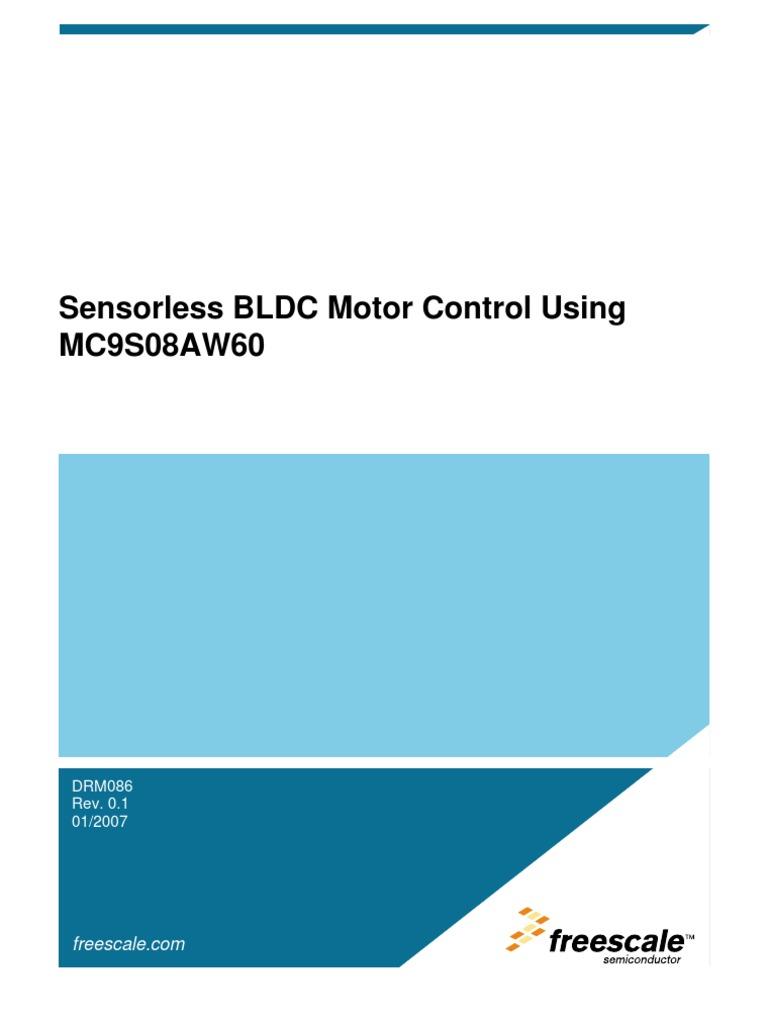 Sensor Less BLDC Motor | Electric Motor | Analog To Digital Converter