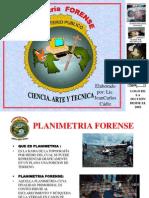 planimetria forense