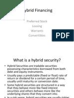 Hybrid Financing Final 2011-2012