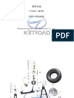 9-Kinroad XT150GK-7 Parts Manual