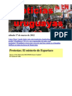 Noticias Uruguayas sábado 17 de marzo de 2012