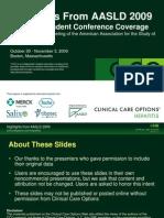 2009 AASLD HCV Highlights