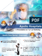 7 ps of Service Marketing - Apollo Hospital