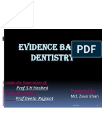 Evidence Based Dentistry 26.12.11