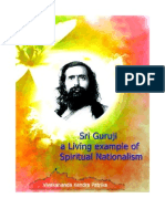 Sri Guruji a Living Example of Spiritual Nationalism