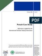 Potash Case Study