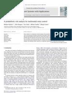 A Probabilistic Risk Analysis for Multi Modal Entry Control