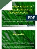 07 GAVIONES DIMENSIONAMIENTO PLATAFORMAS DE DEFORMACIÓN