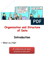 ion and Structure of Data