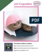 Crochet Cupcake Plushie